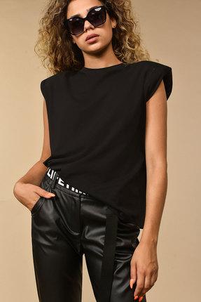 женская блузка сч@стье, черная