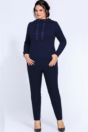 женский спортивный костюм джерси, синий