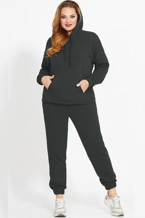 женский спортивный костюм джерси, черный