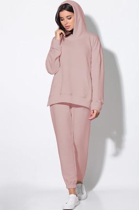 женский спортивный костюм lenata, розовый