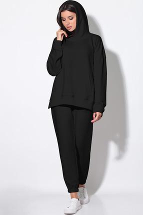 женский спортивный костюм lenata, черный