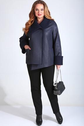 женская куртка axxa, синяя