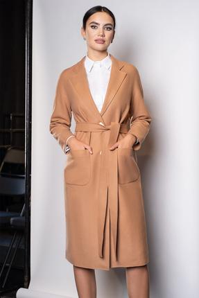 женское пальто юрс, песочное