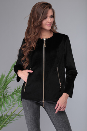 Жакет Denissa Fashion 1332 черный