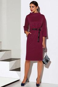 Платье Lissana 4060 ягодный