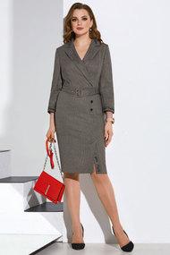 Платье Lissana 4175 серый