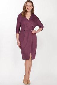 Платье LaKona 1286 пурпурный