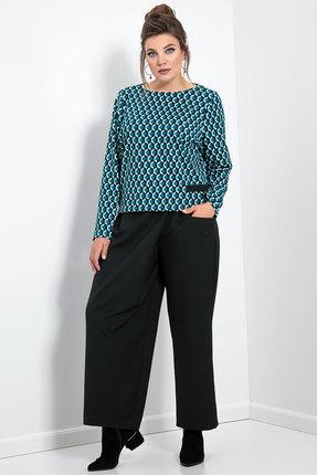женские брюки jerusi, черные
