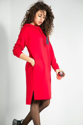 Спортивное платье Samnari Т-60 красный