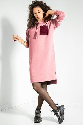 женское спортивные платье samnari, розовое