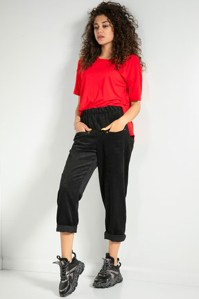 женские брюки samnari, черные