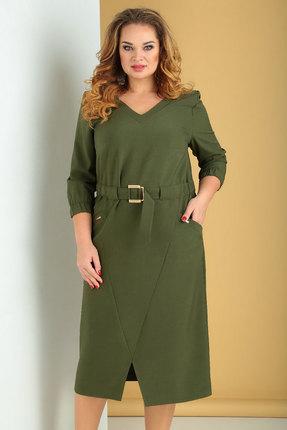 женское повседневные платье ксения стиль, хаки