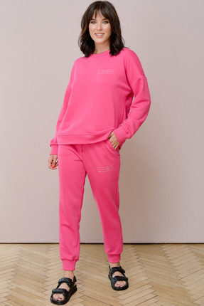 женский спортивный костюм джерси, розовый