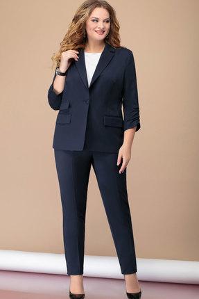 женский брючный костюм nadin-n, синий