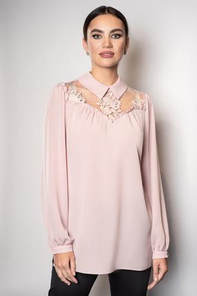 женская блузка юрс, розовая