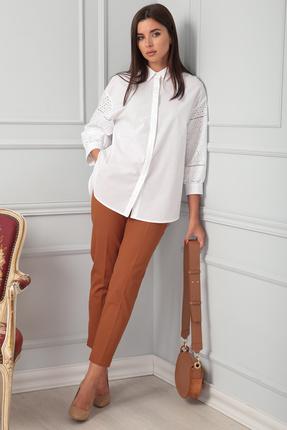 женские брюки sandyna, коричневые