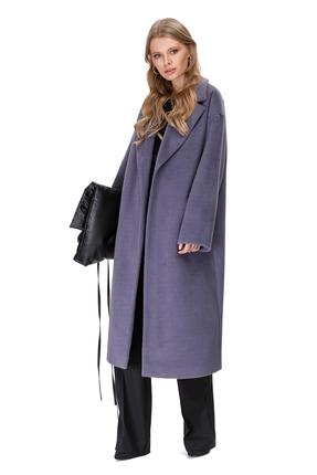 женское пальто pirs, сиреневое