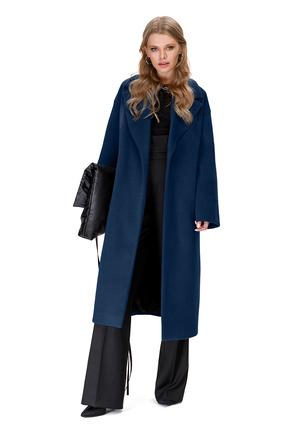 женское пальто pirs, синее