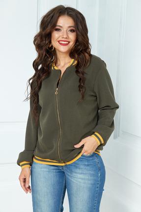 женская куртка anastasia, оливковая