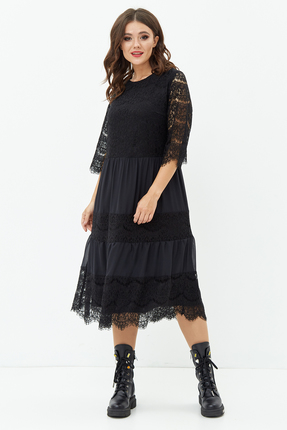 женское вечерние платье anastasia mak, черное