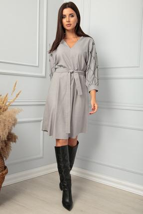 женское повседневные платье sandyna, серое