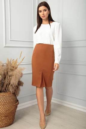 женская юбка sandyna, коричневая