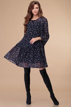 женское вечерние платье svetlana style, синее