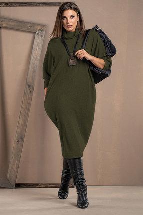 женское повседневные платье deesses, хаки