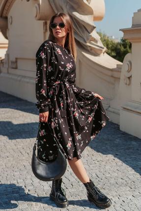 женское повседневные платье mirolia, черное
