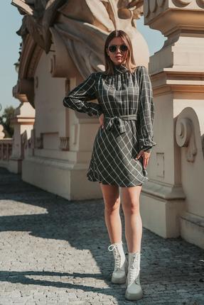 женское повседневные платье mirolia, серое