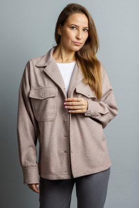 женская куртка mirolia, бежевая