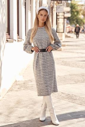 женское повседневные платье vesnaletto, серое