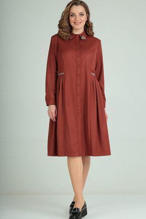 женское повседневные платье ришелье