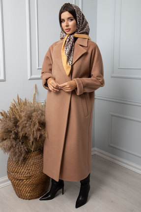 женское пальто sandyna, песочное