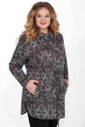 женская рубашка emilia, серая