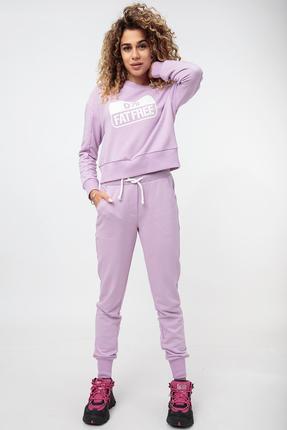 женский спортивный костюм hit, лиловый