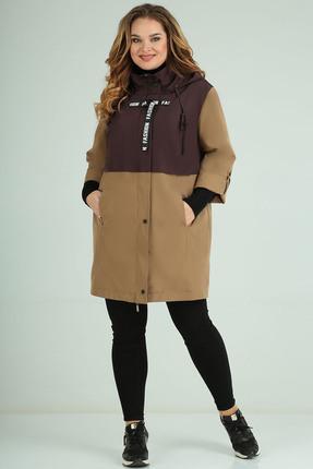 Куртка Milana 239 коричневые тона
