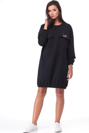 Спортивное платье TawiFa 1057 чёрный