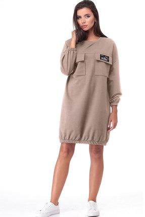 Спортивное платье TawiFa 1057 бежевый