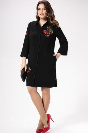 Фото - Платье Panda 416186 черный черного цвета
