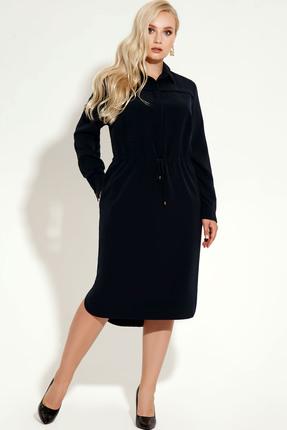 Фото 3 - Платье Panda 425780 черный черного цвета
