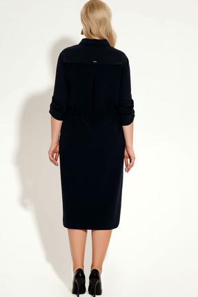 Фото 4 - Платье Panda 425780 черный черного цвета