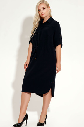 Фото 2 - Платье Panda 425780 черный черного цвета