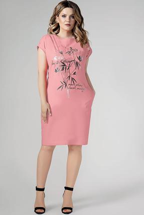 Фото - Платье Panda 444780 розовый розового цвета
