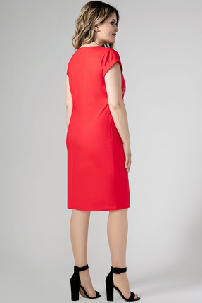 Фото 2 - Платье Panda 444780 красный красного цвета