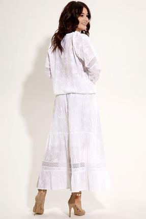 Фото 3 - Комплект юбочный Panda 448710 молочный молочного цвета