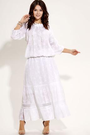 Фото 2 - Комплект юбочный Panda 448710 молочный молочного цвета