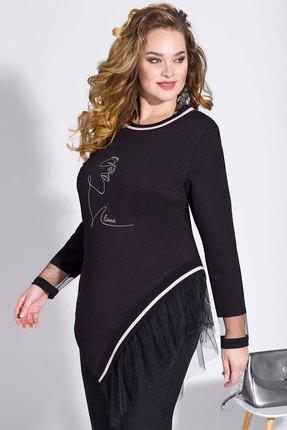 женская туника лилиана, черная