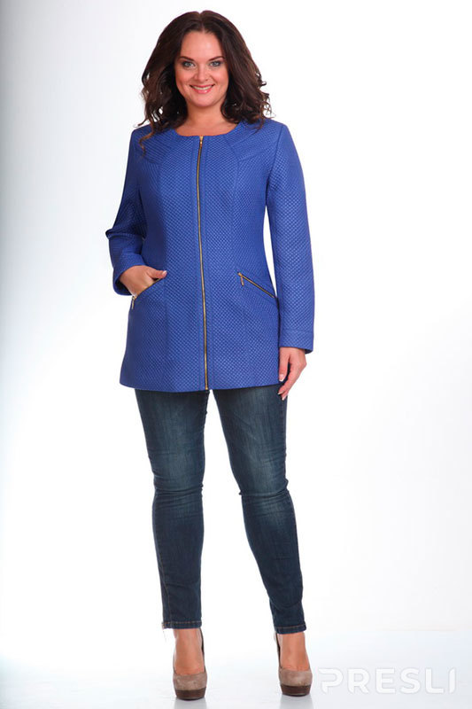 Куртка Ninele 5208 василёк