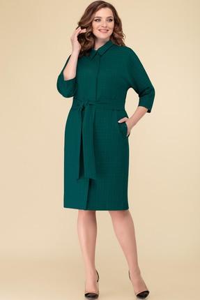 Платье Дали 3318 зеленый